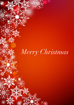 Christmas _ Red _ Vertical background 2178