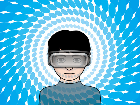 VR Goggles (4) View of the world Male