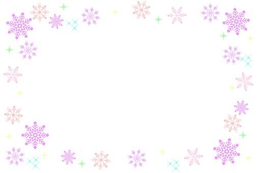 Snow frame pink