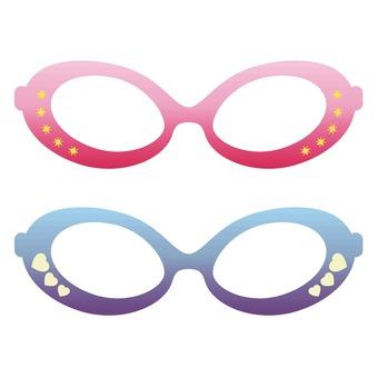 Photo props glasses 1