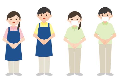 Nursing care helper (male / female)
