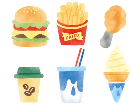 Loose junk food