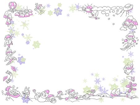 Winter frame 8