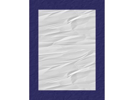 Beginning of writing Paper display half-paper size indigo blue