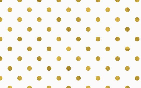 Dot Pattern White Gold