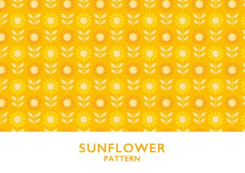 Sunflower pattern