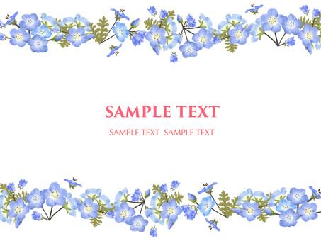 5 월의 꽃 네모 피라 8 프레임