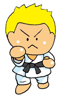 Karate Caucasian