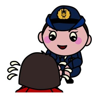A kind police officer