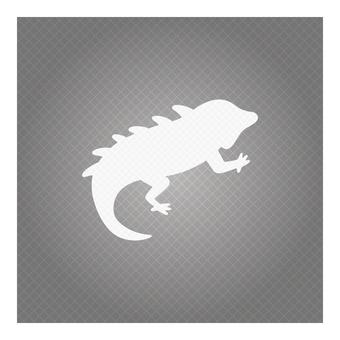Business icon (chameleon)