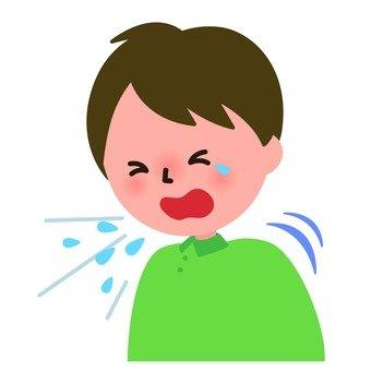 Medical - Male sneezing