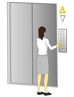 Women who use the elevator