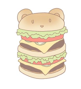 Bear Burger Large