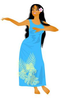 Hula Dance Hula Girl 07