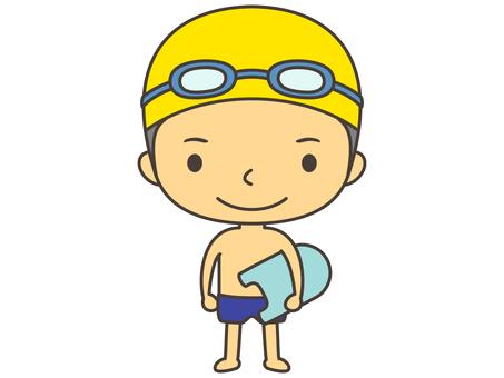 Swimming person A2