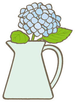 繡球花 - 藍色
