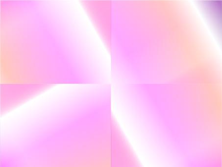 Split gradation (pink)