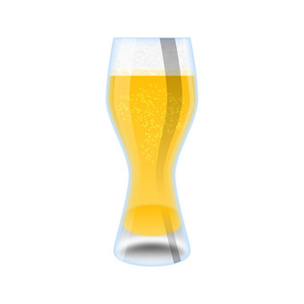 Draft beer (glass)