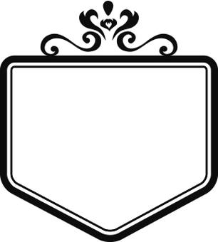 Decoration frame Emblem