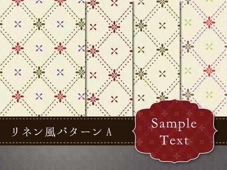 Linen style pattern A pattern texture