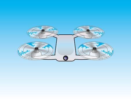 Flying selfie drone