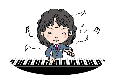 Strict piano