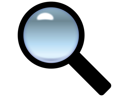 Lens / magnifying glass 10