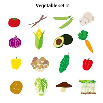 Vegetable set 2