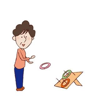 Healthy life span _ ring throwing