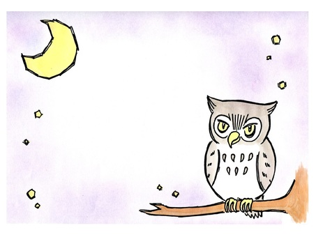 Moon and earthworm