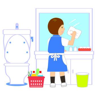 洗面台 清掃