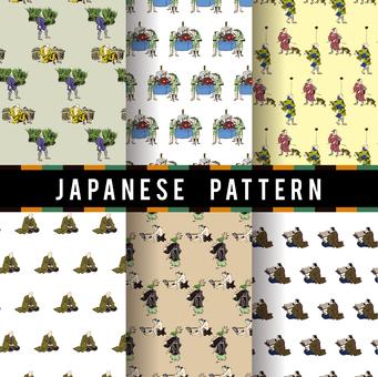 Ukiyo-e pattern 11
