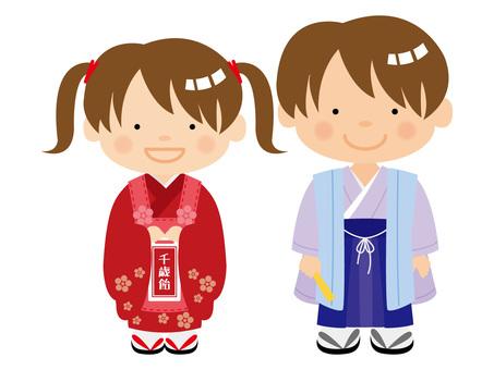 Shichigosan's boys and girls / type i / uta