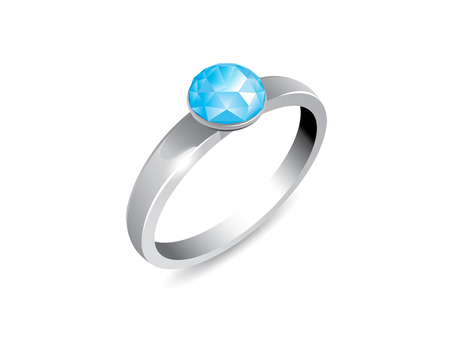 Ring (Aquamarine)