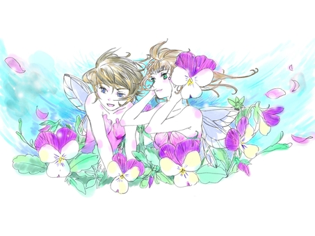 Viola Fairy