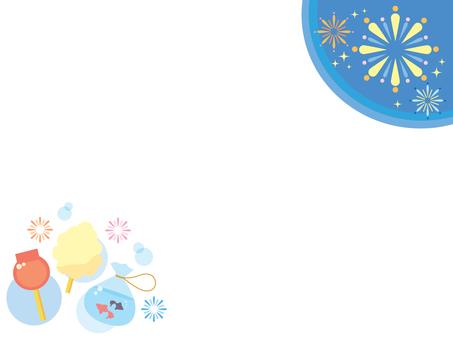 Illustration of summer festival (5)