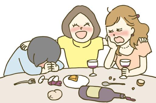 Women's Association drunkard