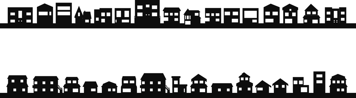 Cityscape Shadow series houses