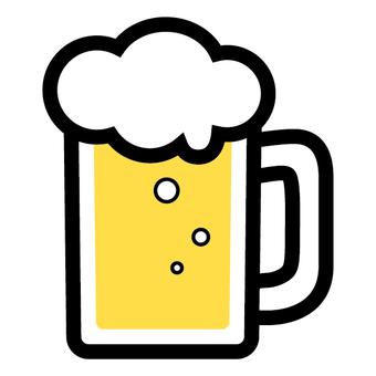 맥주 잔 아이콘 술 음료