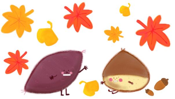 Chestnut and potato
