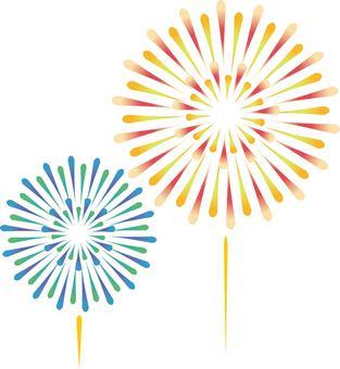 20170708 Fireworks 2 departure back white