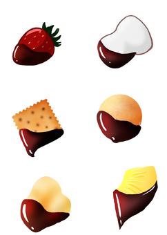 For chocolate fondue material