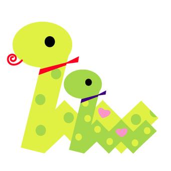 Snake couple