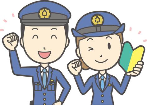 Gender Set Police Officer-033-Bust