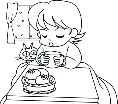 Kotatsu (line drawing)