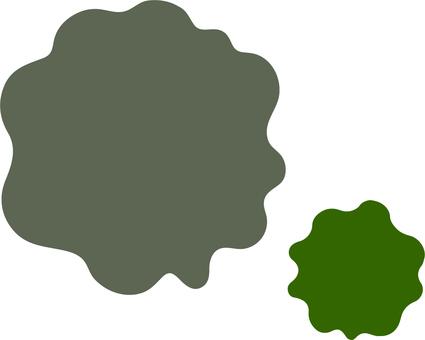 Dawning grass green mold