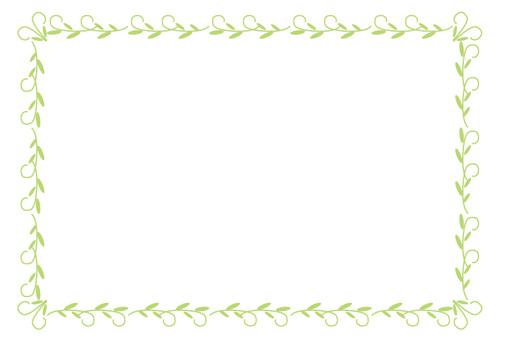 Grass frame green