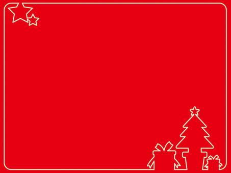 Frame (Christmas) Red