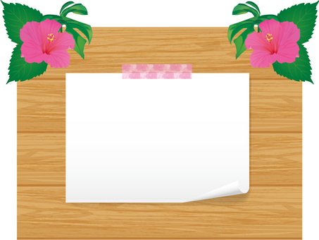 Tropical style board