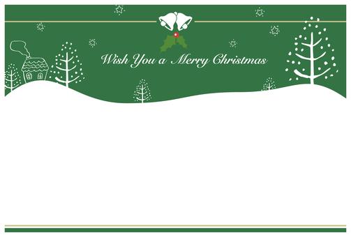 Christmas card 4 side